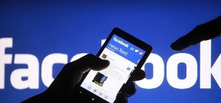 ilustrasi bisnis dengan facebook