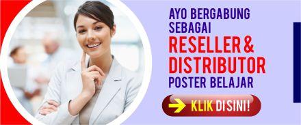 Peluang Usaha Bisnis Internet Online Modal Kecil Poster Belajar Reseller dan Distributor