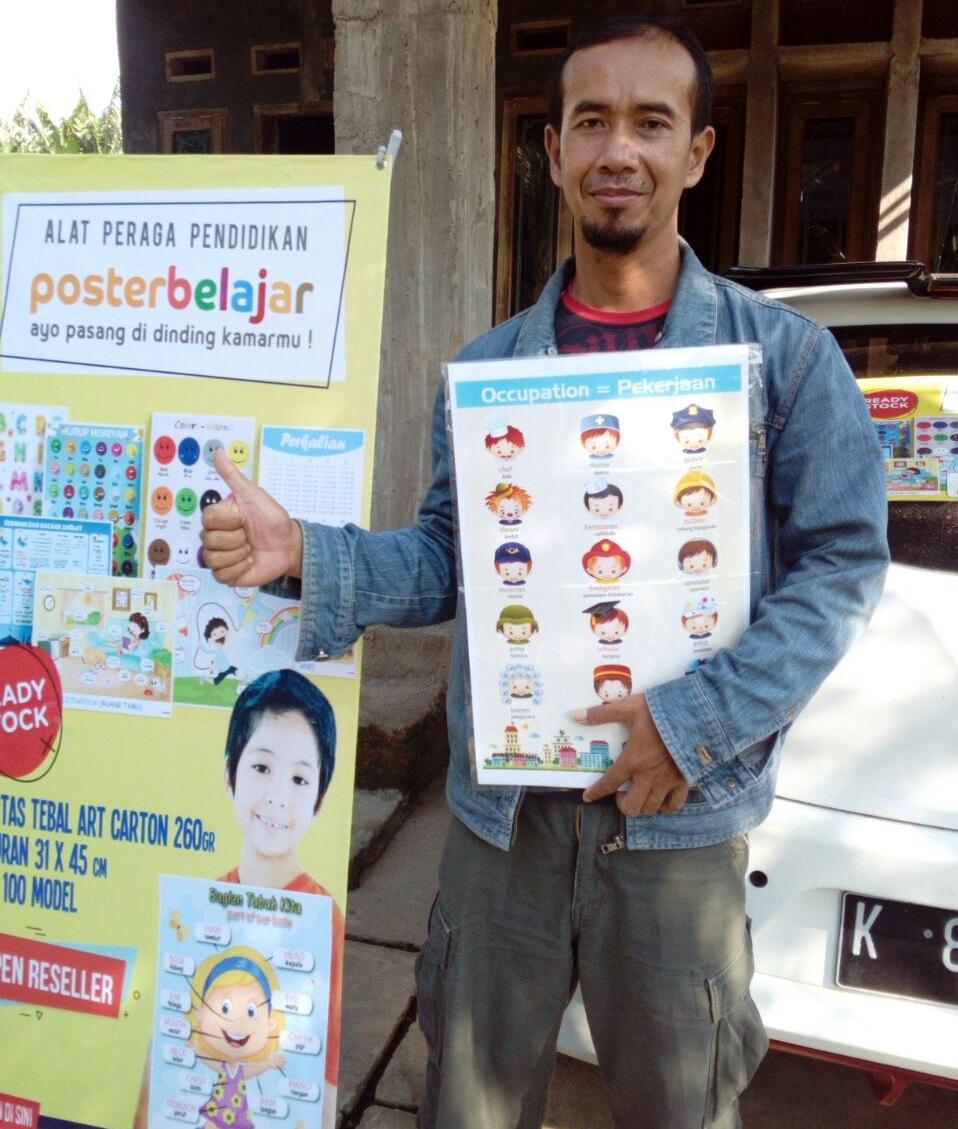 Profil Peluang Bisnis Distributor Poster Belajar | Peluang ...