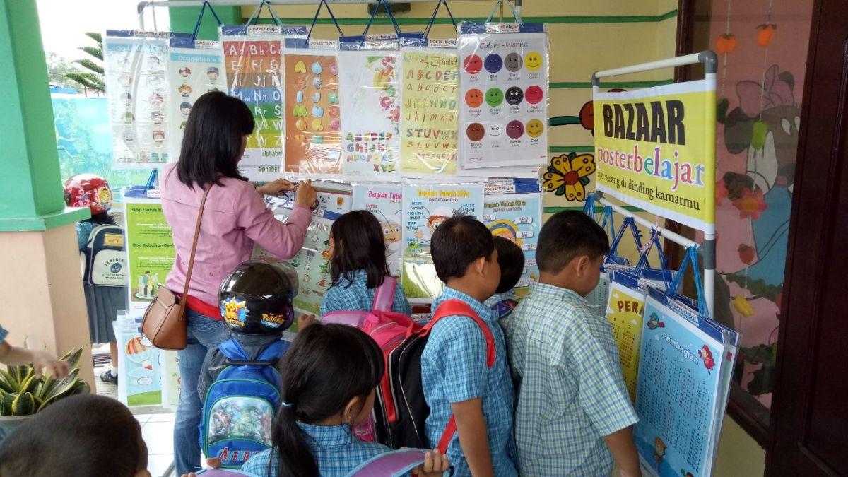 Konsumen 16 poster belajar pendidikan peluang ide bisnis ...