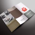 Desain Online download gratis inspirasi contoh design brosur company profile profil Brosur PDB 03
