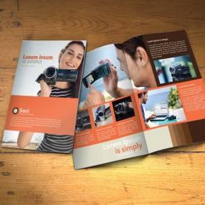 desain-online-download gratis inspirasi contoh design brosur company profile profil-studio-desain-brosur-1