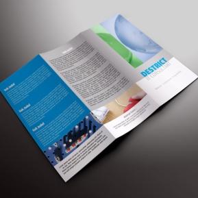 download gratis inspirasi contoh desain design brosur company profile profil 1