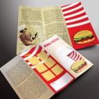 download gratis inspirasi contoh desain design brosur company profile profil 13