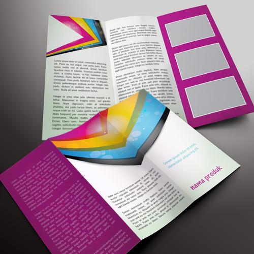 download gratis inspirasi contoh desain design brosur ...