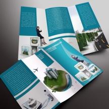 download gratis inspirasi contoh desain design brosur company profile profil 21