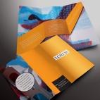 download gratis inspirasi contoh desain design brosur company profile profil 25
