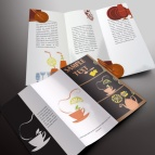 download gratis inspirasi contoh desain design brosur company profile profil 26