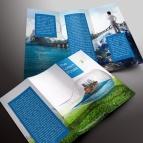 download gratis inspirasi contoh desain design brosur company profile profil 29