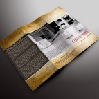download gratis inspirasi contoh desain design brosur company profile profil 4