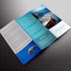 download gratis inspirasi contoh desain design brosur company profile profil 6