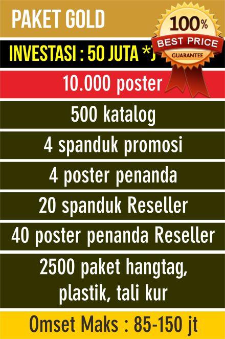 Profil Paket-paket Perdana Distributor Poster Belajar ...