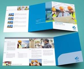 untuk download gratis inspirasi contoh desain design brosur company profile profil 1