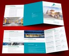 untuk download gratis inspirasi contoh desain design brosur company profile profil 11