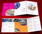 untuk download gratis inspirasi contoh desain design brosur company profile profil 12