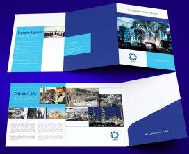 untuk download gratis inspirasi contoh desain design brosur company profile profil 13