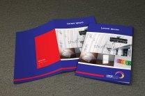 untuk download gratis inspirasi contoh desain design brosur company profile profil 17