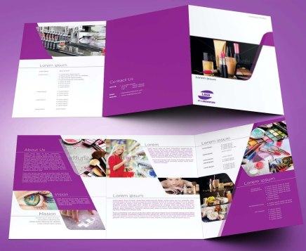 untuk download gratis inspirasi contoh desain design brosur company profile profil 2