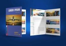 untuk download gratis inspirasi contoh desain design brosur company profile profil 20