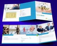 untuk download gratis inspirasi contoh desain design brosur company profile profil 21