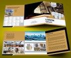 untuk download gratis inspirasi contoh desain design brosur company profile profil 23
