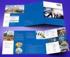 untuk download gratis inspirasi contoh desain design brosur company profile profil 3